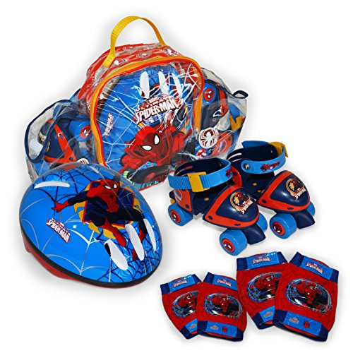 Spiderman Mini Roller in Rucksack Set – Saica Toys 9408
