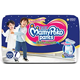 Mamy Poko Pants Style XXXL Size Diapers  7 Count