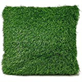 Bada Bing Cojín Césped–Cojín (aprox. 40x 40cm hierba prado verde Jardín Trend 72, 1 Kissen Rasen