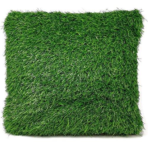 Galleria fotografica bada Bing Rasen Cuscini decorativi Cuscino: ca. 40x 40cm Erba Verde Prato Giardino Trend 72