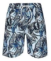 Cargo Bay Boys Printed Bermuda Swim Shorts Navy 3-4 Years
