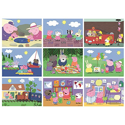 Image of Peppa Pig 9-in-1 Bumper Pack Puzzle