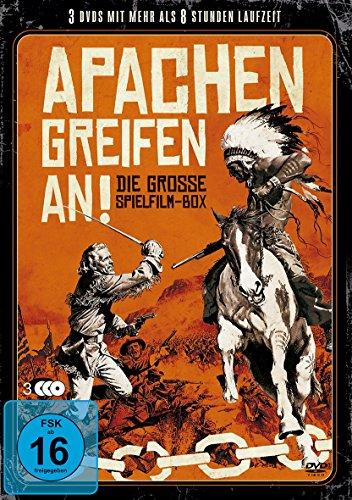 Apachen greifen an! – Die Grosse Spielfilm-Box [3 DVDs]