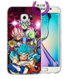 MIM Global Dragon Ball Z Super GT Samsung S Series - Hulle/Schalen Case Cover - Hochste Qualitat - Viele Entwurfe - Goku - Gohan - Vegeta - DBZ (Samsung S8 Plus, Zamasu Arc 2)