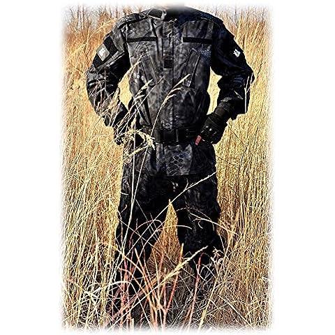 Hombres Táctico BDU Chaqueta de uniforme de combate Camisa y pantalones traje Typhon Kryptek para ejército militar Airsoft Paintball caza juego de guerra, color Typhon Kryptek, tamaño M