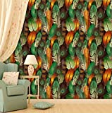 PPD Wallpapers. High Quality Stone Brick Wall Effect Pre Gummed Wallpaper (Self Adhesive) (Large Roll / 45 SqFt) (9)