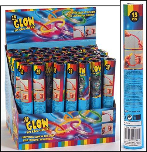 Eddy Toys ED-22384 Fluoreszierende Leuchtsticks