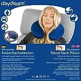 daydream Reise-Nackenkissen (mit Mikroperlen), blau -