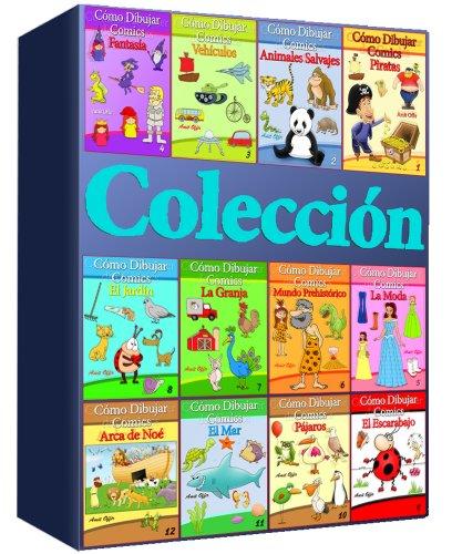 Cómo Dibujar Comics:   Colección de 12 Libros (Libros de Dibujo - Colección) por amit offir