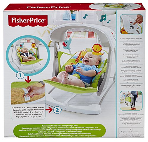 Fisher price ccn92 baby gear seggiolino altalena for Altalena amazon