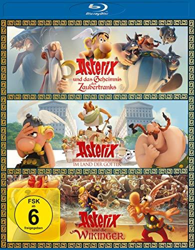 Asterix 3er-Box [Blu-ray]