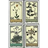 sellos para coleccionistas: Liechtenstein 1116-1119 (completa.edición.) nuevo con goma original 1995 Plantas medicinales