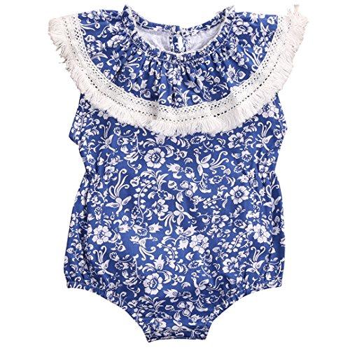 Mystyles Mystyles Baby Mädchen (0-24 Monate) Kapuzenpullover Gr. 0-3 Monate, Blue&White