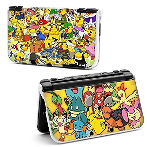 Cartoon Pikachu Pokemon World Hard Protective Case Cover For Nintendo New Style 3DS XL
