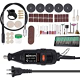 Walmeck Electric Grinding Tool,180W Handheld Electric Grinding Tool Set Mini Portable Rotary Drill Grinder Versatile Cutting