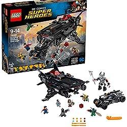 LEGO DC Comics Super Heroes 76087 - Flying Fox della Lega della Giustizia: set dell'aereo di Batman