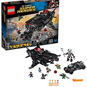 LEGO DC Comics Super Heroes - Flying Fox : l'attaque aérienne de la Batmobile - 76087 - Jeu de Construction