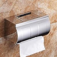 SSBY-Titolare di carta igienica di alta moda, in acciaio inox impermeabile tessuto creativo box, carta ispessita e ondulata