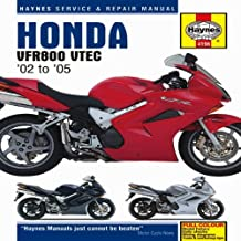 Honda VFR800 VTEC Service and Repair Manual: 2002 to 2009 (Haynes Motorcycle Manuals) by Matthew Coombs (30-Oct-2009) Hardcover