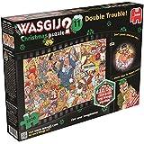 "Jumbo ""Wasgij Christmas 11 Double Trouble Jigsaw Puzzle (1000-Piece)"