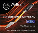 Wolfram Slides Wolfram Precision : Crystal PRO nail file - Designed for Guitarists