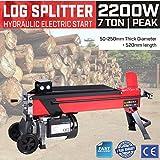 Paneltech 7 Tonnen Elektrischer Holzspalter Hydraulikspalter Brennholzspalter 7tonnen Spaltkraft Hydraulik-Brennholzspalter