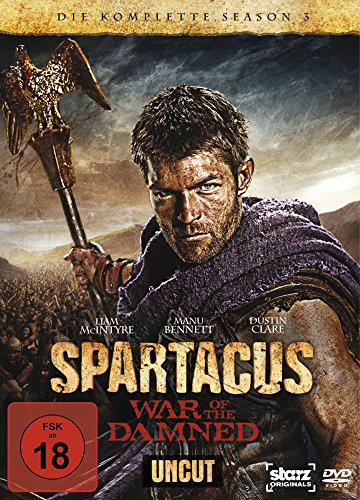 Spartacus: War of the Damned - Die komplette Season 3 (4 Discs, Uncut) (Michael Mcintyre Dvd)