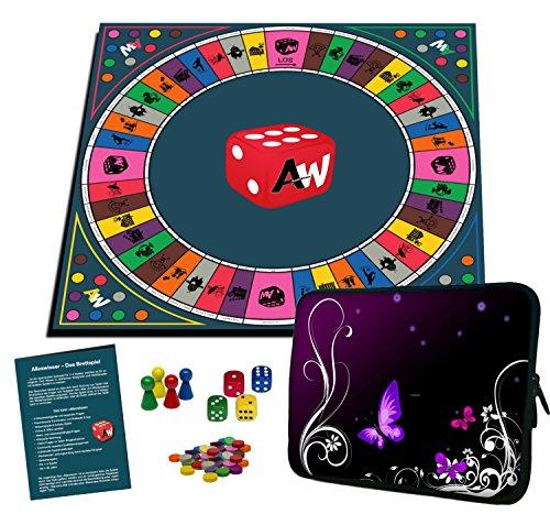 Alleswisser – Das Brettspiel, interaktives Quiz-, Wissens- und Familienspiel mit App für iOS und Android mit Tasche im Freizeit-Layout