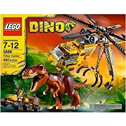 LEGO ( LEGO ) Dino T-Rex Hunter 5886 (Age: 7 - 12 years) block toys ( parallel imports ) by LEGO