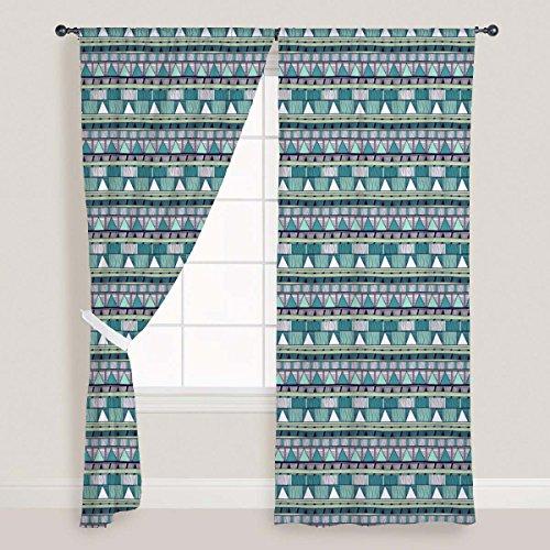 ArtzFolio Tribal Art 2 Door & Window Curtain Canvas 4feet x 9feet; Single Piece (9' Single)