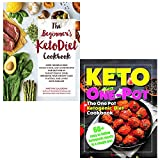 Beginners keto diet cookbook and keto one pot diet collection 2 books set