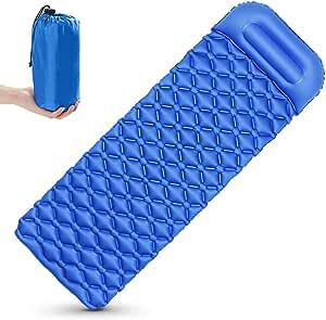 Aufblasbare Isomatte Luftmatratze Thermomatte Schlafmatte Outdoor Sleeping Pad