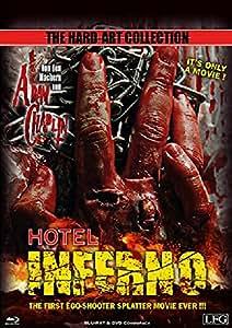 BD * BR+DVD Hotel Inferno - Mediabook Limitiert auf 2.000 Stck UNCUT [Blu-ray] [Import allemand]