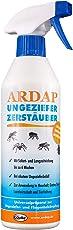 ARDAP Zerstäuber – Wirkungsvolles Insektizid gegen Fliegen, Schädlinge oder Lästlinge – Pumpspray für Zuhause oder in unmittelbarer Nähe von Tieren – 1 x 500 ml