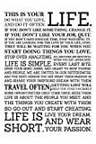 #6: Inephos This Is Your Life Quotes Poster Art | Motivational Posters For Room (12 x 18 inch)
