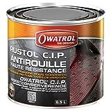 Owatrol 787 - Pintura para interior color rojo