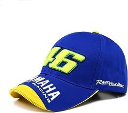 Baseball Cap Moto GP Racing Yamaha 46 Casual Summer Wear - Blue Color