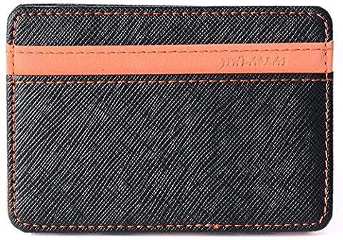 Portefeuille magique,Vicloon Magic Wallet Porte-cartes de crédit Bourse Billfold -