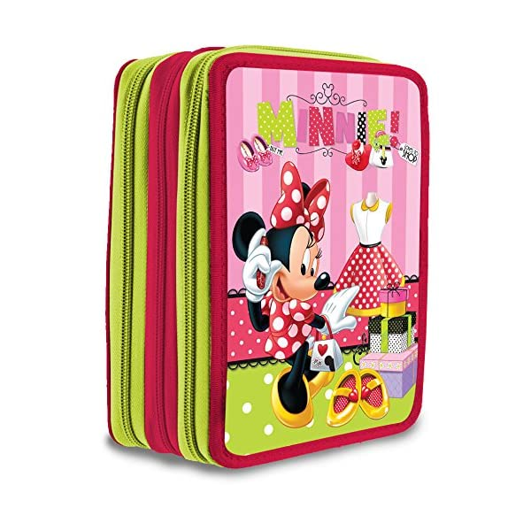 Plumier Minnie Disney triple