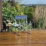 Generic INIUM Kompakter Picknicktisch/Campingtisch aus Aluminium mit Seitenteil für Wohnwagen, Wohnmobil