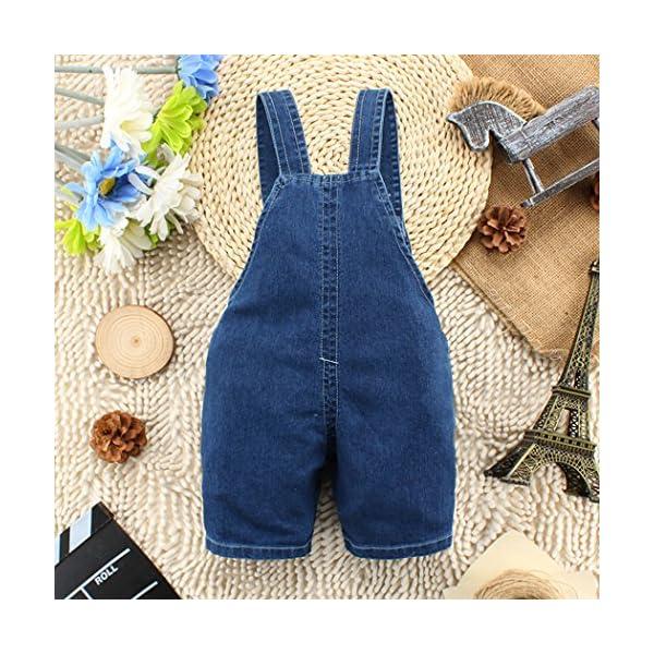 Kidscool - Pantalones cortos de verano para bebés y niñas con orejas amarillas grandes 2