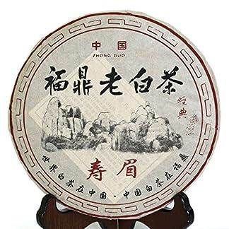 350g-123-oz-2008-Year-FuDing-Organic-Premium-Shou-Mei-Long-Life-Eyebrow-Aged-Chinese-White-Tea-Cake-Tee