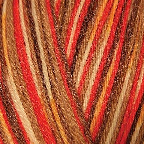 King Cole Zig Zag 4 Ply Sock Wool - 751 Sonata