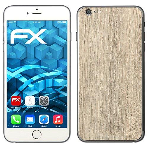 "Skin Apple iPhone 6 Plus ""FX-Variochrome-Spectral"" Sticker Autocollant FX-Wood-Bleached-Oak"