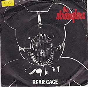 """The Stranglers Bear Cage UK 45 7"""" single +Picture Sleeve +Shah Shah A Go Go"""