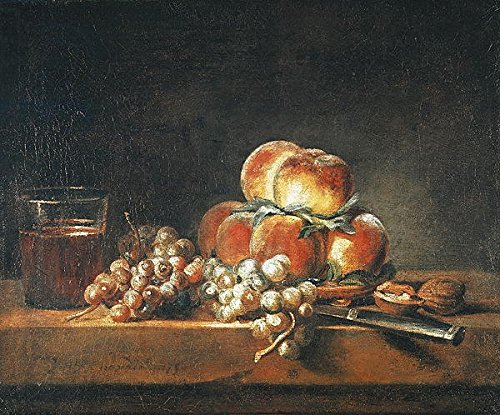 alu-dibond-bild-120-x-100-cm-still-life-of-peaches-nuts-grapes-and-a-glass-of-wine-1758-oil-on-canva