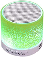 LED Light MINI Bluetooth Speaker A9 TF USB Wireless Portable Music Sound Box Subwoofer Loudspeakers with Mic For Cellphone P