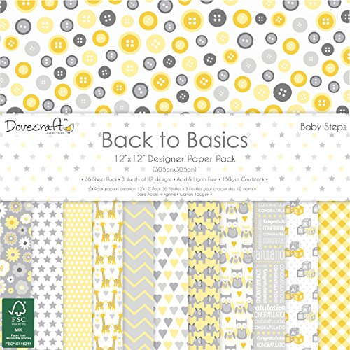 dovecraft-back-to-basics-baby-steps-collection-paper-pack-12x12-12-designs-fsc