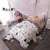 VClife® Sommerdecke Tagesdecke Baumwolle Polyester Bettüberwurf Schlafzimmer  Bett Sommer Dünne Überdecke Kuscheldecke Kinder Erwachsene Decke (Ohne ...