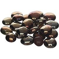 VANNI OBSESSION Multi Purpose Pebbles Stone for Decoration & Home Decor (Brown, 1 kg)